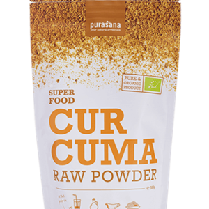Curcuma raw powder