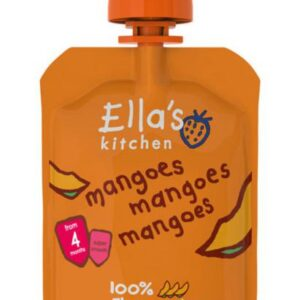 Ellas Kitchen Baby First Tates Mangoes Mangoes Mangoes 70g
