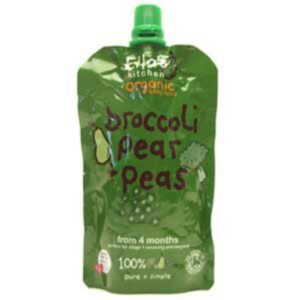 Ellas Kitchen Broccoli Pear Peas Baby Food 120g