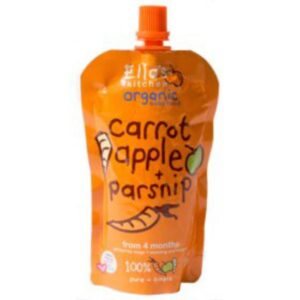Ellas Kitchen Carrot Apple Parsnip Baby Food 120g