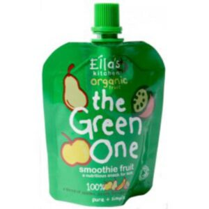 Ellas Kitchen Smoothie Fruit The Green One 90g