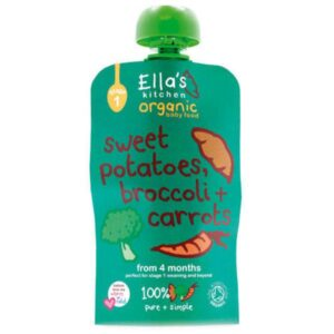 Ellas Kitchen Sweet Potato Broccoli Carrot Baby Food 120g