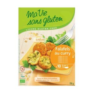 Falafel with vegetables curry 150g Mae Vie Sans Gluten