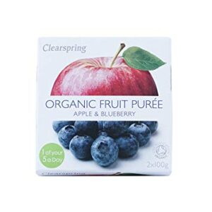 Fruit Purée organic Apple Blueberry