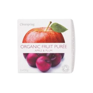 Fruit Purée organic Apple Plum