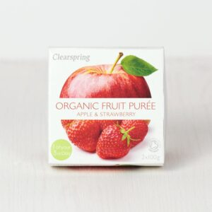 Fruit Purée organic Apple Strawberry