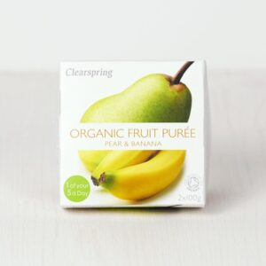 Fruit Purée organic Pear Banana
