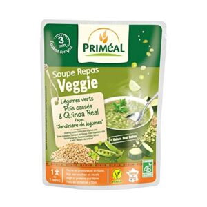 Green Vegetables Split Peas Quinoa Soup 250ml Primeal