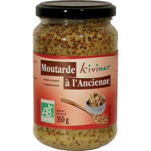 KI WHOLEGRAIN MUSTARD 350G