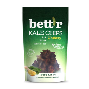 Kale Crisps with Cheese Pepper