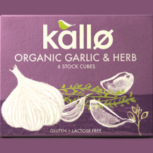Kallo Stock Cubes Garlic Herb