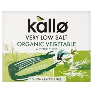 Kallo Stock Cubes Vegetable Low Salt