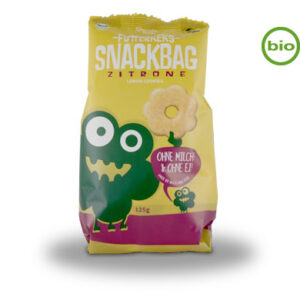 Lemon biscuits organic snackbag 125g