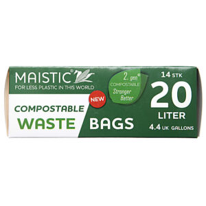 Maistic Gen Compostable Waste bag 20Ltr 14S