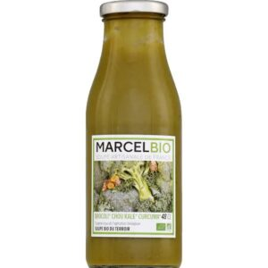Marcel Bio Broccoli Kale Tumeric 100 Organic Soup 2portion 480ml