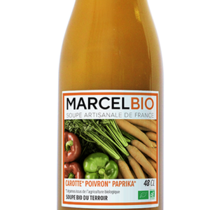 Marcel Bio Carrot Pepper Paprika 100 Organic Soup 2portion 480ml
