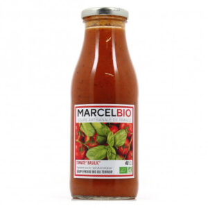 Marcel Bio Tomato Basil 100 Organic Soup 2portion 480ml