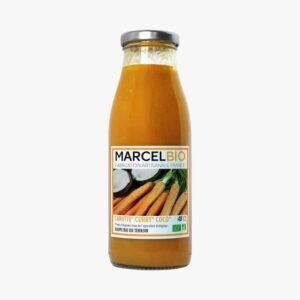 Marcel Bio carrot curry and coconut soup