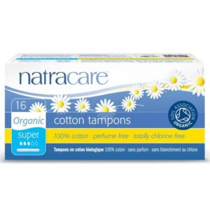 Natracare Cotton Applicator Tampons Super