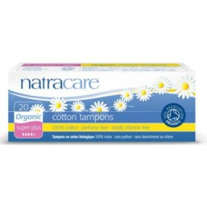 Natracare Cotton Tampons Super