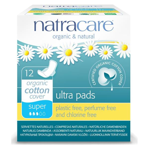 Natracare Natural Pads Super