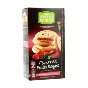 Organic Biscuit Filled With Red Fruits