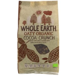 Organic Cocoa Crunch 375g Whole Earth