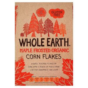 Organic Cornflakes Maple Frosted 375g Whole Earth