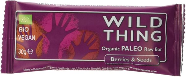 Raw Paleo Bar Berries Seed