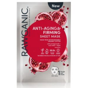 Rawganic Anti Aging Firming Sheet Mask Single