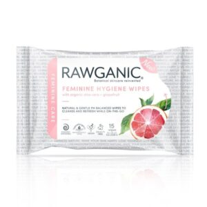 Rawganic Female Hygiene Wipes