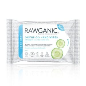 Rawganic On the go hand wipes