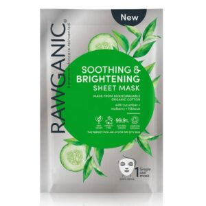 Rawganic Soothing Brightening Sheet Mask Pk6
