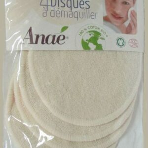 Reusable Make Up Pads organic Cotton Pk4