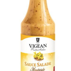Salad Dressing Wholegrain organic Mustard 500ml Vigean