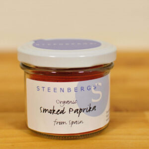 Smoked paprika 100 Organic in glass jar
