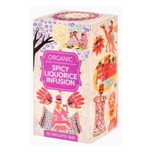 Spicy Liquorice Infusion Organic Ministry of Tea