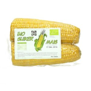 Sweetcorn (2 pc's) 100% Organic