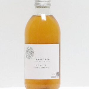 Tensaï tea black tea ginger 330ml