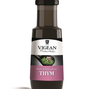 Thyme Infused Pure organic Olive Oil 100ml Vigean