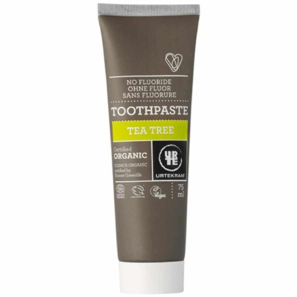 Toothpaste Tea Tree Urtekram