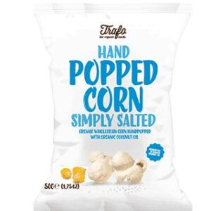 Trafo Organic Hand Popped Corn Simply Salted