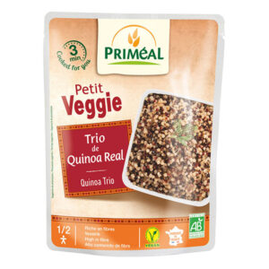 Trio of organic royal quinoa