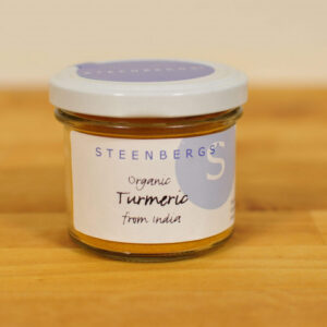 Turmeric powder 100 Organic in glass jar