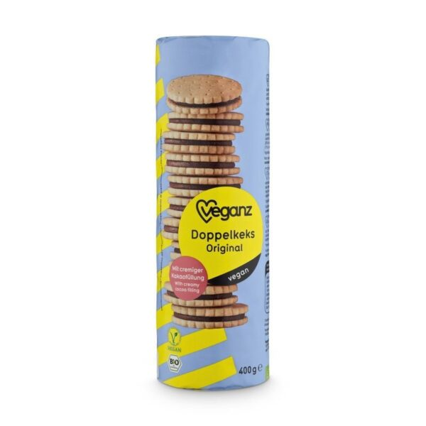 Veganz Original Double Biscuits 400g