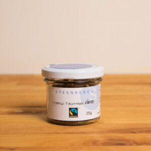Cloves Fairtrade 100% organic in glass jar
