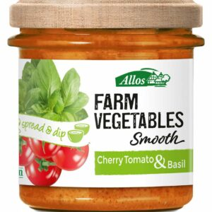Farm Vegetable Spread Cherry Tomato & Basil - Allos