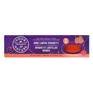 Red Lentil Spaghetti 250g – Your Organic Nature