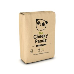 The-Cheeky-Panda - Bamboo toilet paper - 4 Rolls