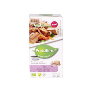Tofu with Sweet Ginger & Garlic (250g) - ProLaTerre